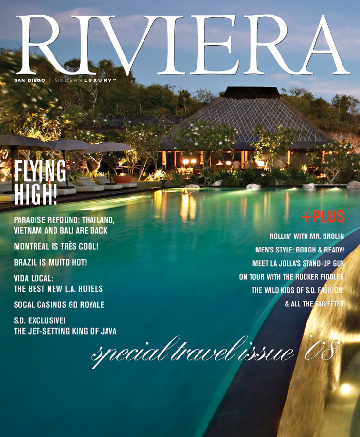Red Sonya in Riviera Magazine