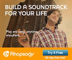 Rhapsody Free 30 Day Trial