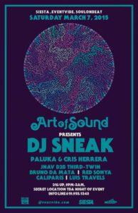 Art of Sound presents DJ Sneak