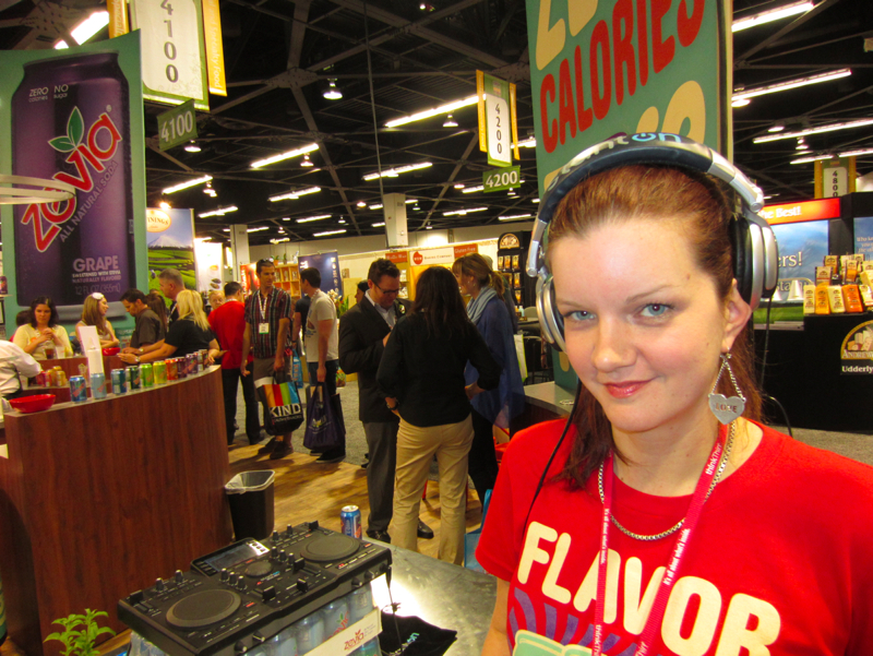 Zevia Booth at The Natural Products Expo