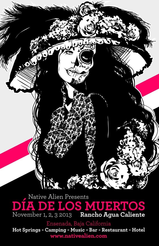 Dia de los Muertos 2013 @ Rancho Auga Caliente