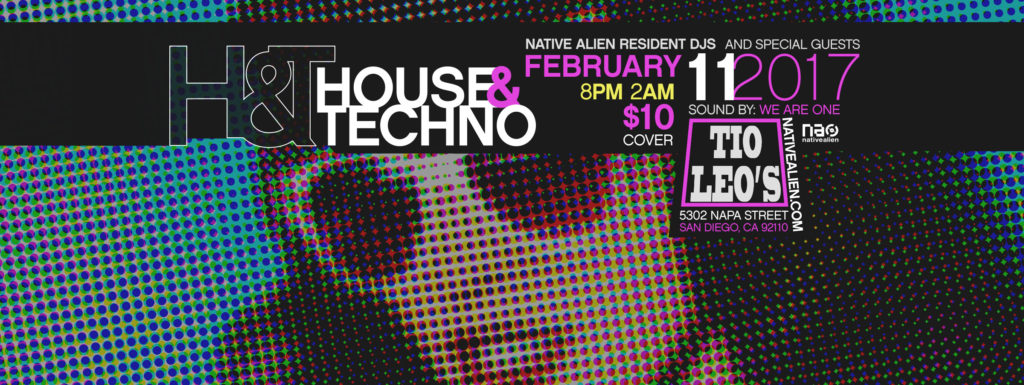 House & Techno Feb 11th